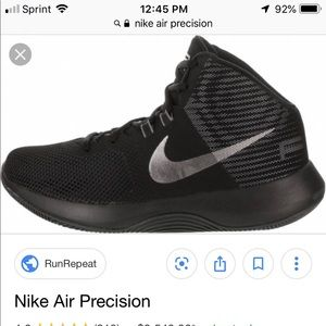 Nike air precision shoes